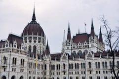 Bâtiment du Parlement à Budapest, Hongrie Images libres de droits