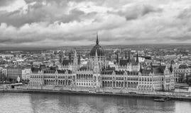 Bâtiment du Parlement, Budapest Images libres de droits