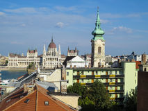 Bâtiment du Parlement, Budapest, Hongrie Photo stock