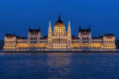Bâtiment du Parlement de Budapest Photos stock