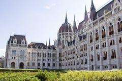 Bâtiment du parlement hongrois à Budapest, Hongrie photographie stock