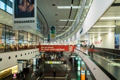 Bâtiment du terminal 3 de Vienne Schwechat Airtport Photo libre de droits