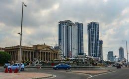 Bâtiment du vieux Parlement dans Sri Lanka photographie stock