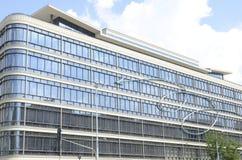 Bâtiment en cristal à Varsovie photo stock
