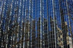 Bâtiment en verre à Zagreb Image stock