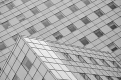 Bâtiment en verre Photos libres de droits