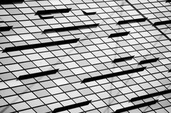 Bâtiment en verre Images stock