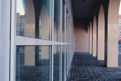 Bâtiment en verre de bureau Photos libres de droits
