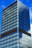 Bâtiment en verre de tour Image libre de droits