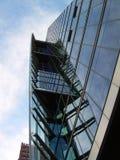 Bâtiment en verre moderne Photographie stock