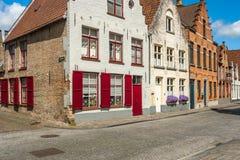 Bâtiment et architecture de Brugges Photographie stock libre de droits