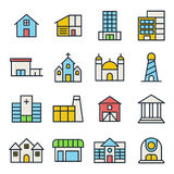 Bâtiment et Real Estate Photographie stock