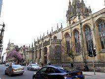 Bâtiment européen au centre de la ville d'Oxford Royaume-Uni photos libres de droits