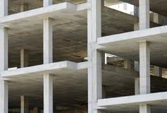 Bâtiment fait avec des dalles de béton préfabriqué photographie stock