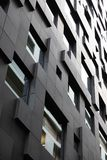 Bâtiment futuriste et contemporain dans la ville moderne photo libre de droits