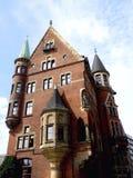Bâtiment gothique de style Image stock