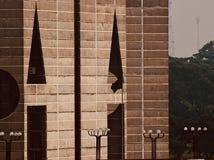Bâtiment historique architectural élégant du Bangladesh photo libre de droits