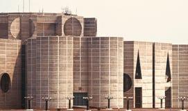 Bâtiment historique architectural élégant du Bangladesh images libres de droits