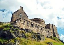 Bâtiment historique, château d'Edimbourg Image libre de droits