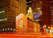 Bâtiment historique d'Université d'Harvard à Cambridge Photo stock