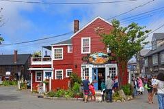 Bâtiment historique dans Rockport, le Massachusetts, Etats-Unis Photo stock
