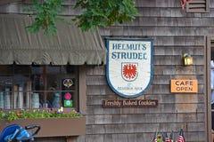 Bâtiment historique dans Rockport, le Massachusetts, Etats-Unis Photographie stock libre de droits