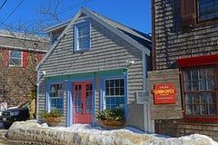 Bâtiment historique dans Rockport, le Massachusetts, Etats-Unis Photo libre de droits