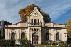 Bâtiment historique dans Zverynas photographie stock libre de droits