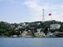 Bâtiment historique de Bosphorus Istanbul Photos stock