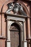 Bâtiment historique de Ferrare Photo stock