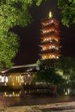 Bâtiment historique de la Chine, tour Photos stock