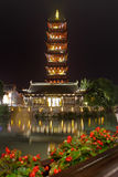 Bâtiment historique de la Chine, tour Photo libre de droits