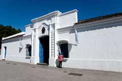 Bâtiment historique de la maison De Tucuman - Argentine Images libres de droits