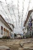 Bâtiment historique de Paraty en Rio de Janeiro Brazil images libres de droits