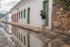 Bâtiment historique de Paraty en Rio de Janeiro Brazil photos stock
