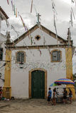 Bâtiment historique de Paraty en Rio de Janeiro Brazil image libre de droits