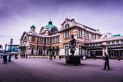 Bâtiment historique de station de train de Séoul photos stock