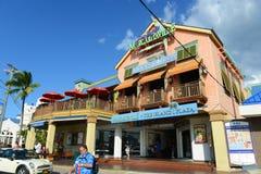 Bâtiment historique en George Town, Îles Caïman Photos libres de droits