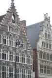 Bâtiment historique gentil à Gand Belgique Images stock