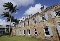 Bâtiment historique sur l'Antigua Photos stock