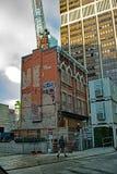 Bâtiment historique sur la rue de Yonge à Toronto, Canada photographie stock libre de droits
