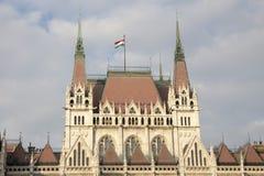 Bâtiment hongrois du Parlement images libres de droits