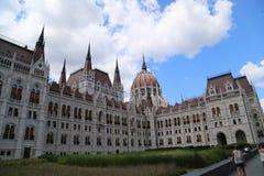 Bâtiment hongrois du Parlement photo libre de droits