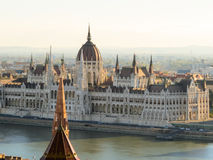 Bâtiment hongrois du parlement, Budapest, Hongrie Photo stock