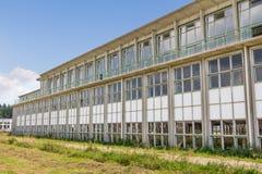 Bâtiment industriel d'Abadoned Image libre de droits