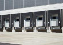 Bâtiment industriel, entrepôt commercial photographie stock