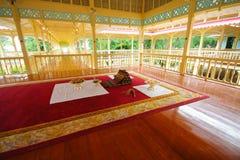 Bâtiment intérieur de palais de Mrigadayavan Photographie stock libre de droits