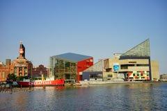 Bâtiment intérieur de port de Baltimore photographie stock libre de droits