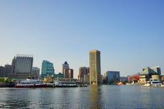 Bâtiment intérieur de port de Baltimore photos libres de droits