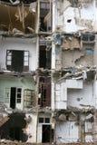 Bâtiment intérieur subissant la démolition Image stock
